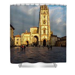 Cathedral Of Oviedo Shower Curtain