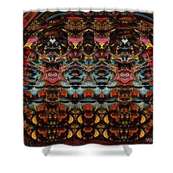 Cathedral Of The Mind No 63 Shower Curtain