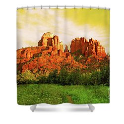Cathedral Rock Az Shower Curtain