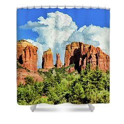 Cathedral Sed M 04-115 Shower Curtain by Scott McAllister
