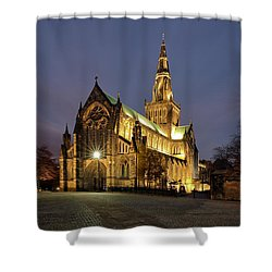 Cathedral Twilight Shower Curtain