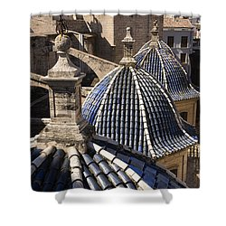 Cathedral Valencia Side Domes Shower Curtain