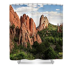 Cathedral Valley, Colorado Shower Curtain