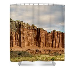 Cathedral Valley Wall Shower Curtain