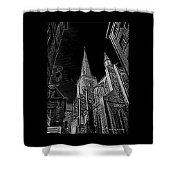 Shower Curtain featuring the photograph Cathedrale St/. Vincent by Elf Evans