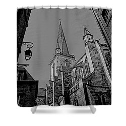 Shower Curtain featuring the photograph Cathedrale St. Vincent  by Elf Evans