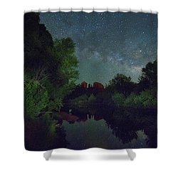 Cathedrals' Nights Shower Curtain