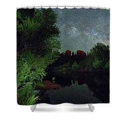 Cathedrals' Skies Shower Curtain