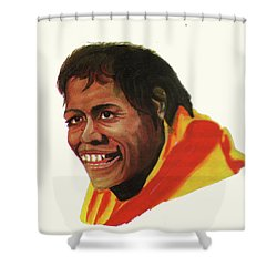 Cathy Freeman Shower Curtain