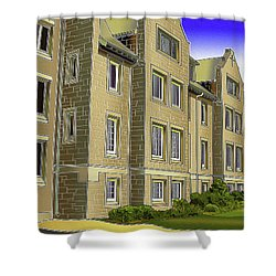 Catonsville United Methodist Church Shower Curtain by Stephen Younts