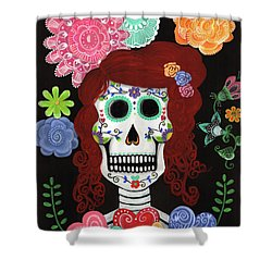 Catrina's Garden Shower Curtain