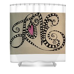 Cats Pajamas Shower Curtain by Claudia Cole Meek