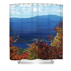 Catskill Mountains Photograph Shower Curtain by Kristen Fox