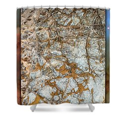 Cave Abstraction.... Shower Curtain