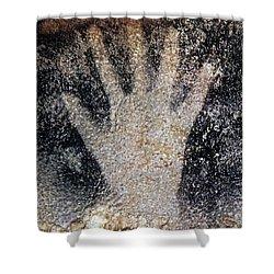 Cave Art: Pech Merle Shower Curtain by Granger