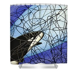 Cave Exploration Shower Curtain