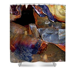 Cave Gems Shower Curtain