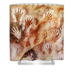 Cave Of The Hands - Cueva De Las Manos Shower Curtain