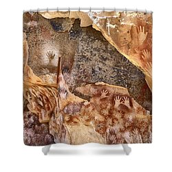Cave Of The Hands Patagonia Argentina Shower Curtain
