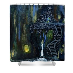 Cave Of Thrones Shower Curtain