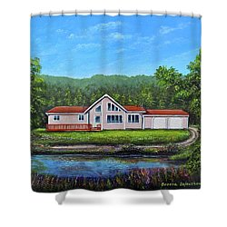 Cavendish House Shower Curtain