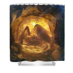 Cavern Light Shower Curtain