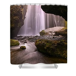 Shower Curtain featuring the photograph Cavern Of Dreams by Dustin  LeFevre