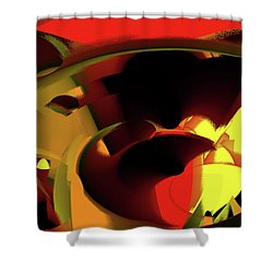 Caverns Shower Curtain