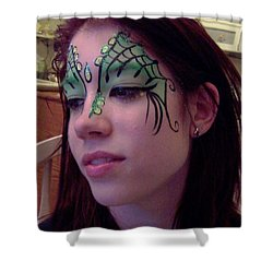 Cayce Dragon Princess Shower Curtain
