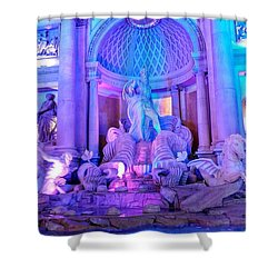 Ceasars Palace Forum Shops Shower Curtain