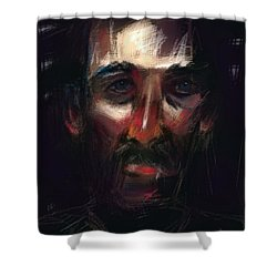 Cecil Shower Curtain by Jim Vance