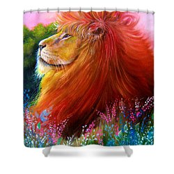 Cecil  Shower Curtain by Patrice Torrillo