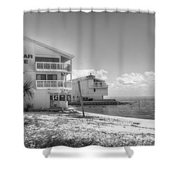 Shower Curtain featuring the photograph Cedar Cove by Howard Salmon