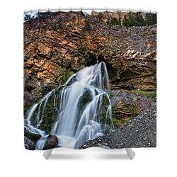Cedar Creek Falls 2 Shower Curtain by Leland D Howard