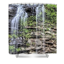 Shower Curtain featuring the photograph Cedar Falls by JC Findley