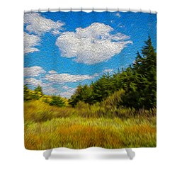 Cedar Gulch Shower Curtain
