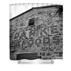 Cedar Key Sea Foods Shower Curtain by David Lee Thompson