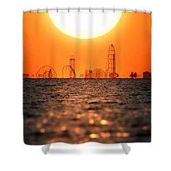 Cedar Point Skyline 2 Shower Curtain