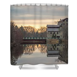 Cedarburg Mill Shower Curtain