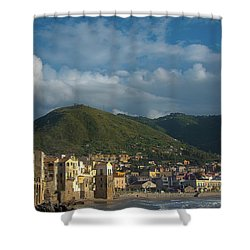 Cefalu  Shower Curtain