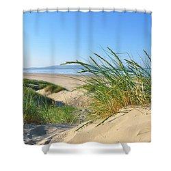 Cefn Sidan Beach 4 Shower Curtain