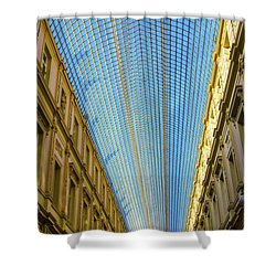 Shower Curtain featuring the photograph Ceiling  by Pravine Chester