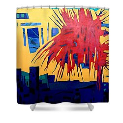 Celebrate The Day Shower Curtain