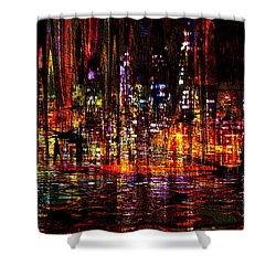 Celebration In The City Shower Curtain