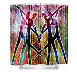 Celebration Shower Curtain by Jaison Cianelli