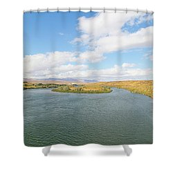 Celebration Park Idaho Shower Curtain
