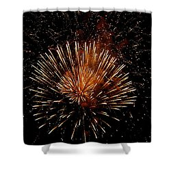Voice Less Than Fireworks   Shower Curtain