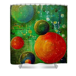 Celestal Planets Shower Curtain