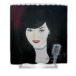 Celeste Barbier Shower Curtain
