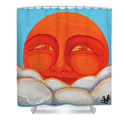 Celestial 2016 #1 Shower Curtain